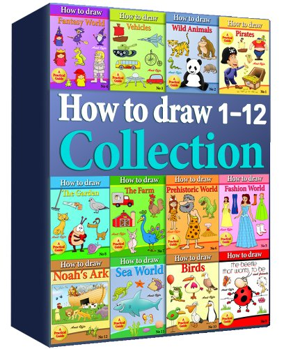 How to Draw Collection 1-12 (Over 400 Pages) by [offir, amit]