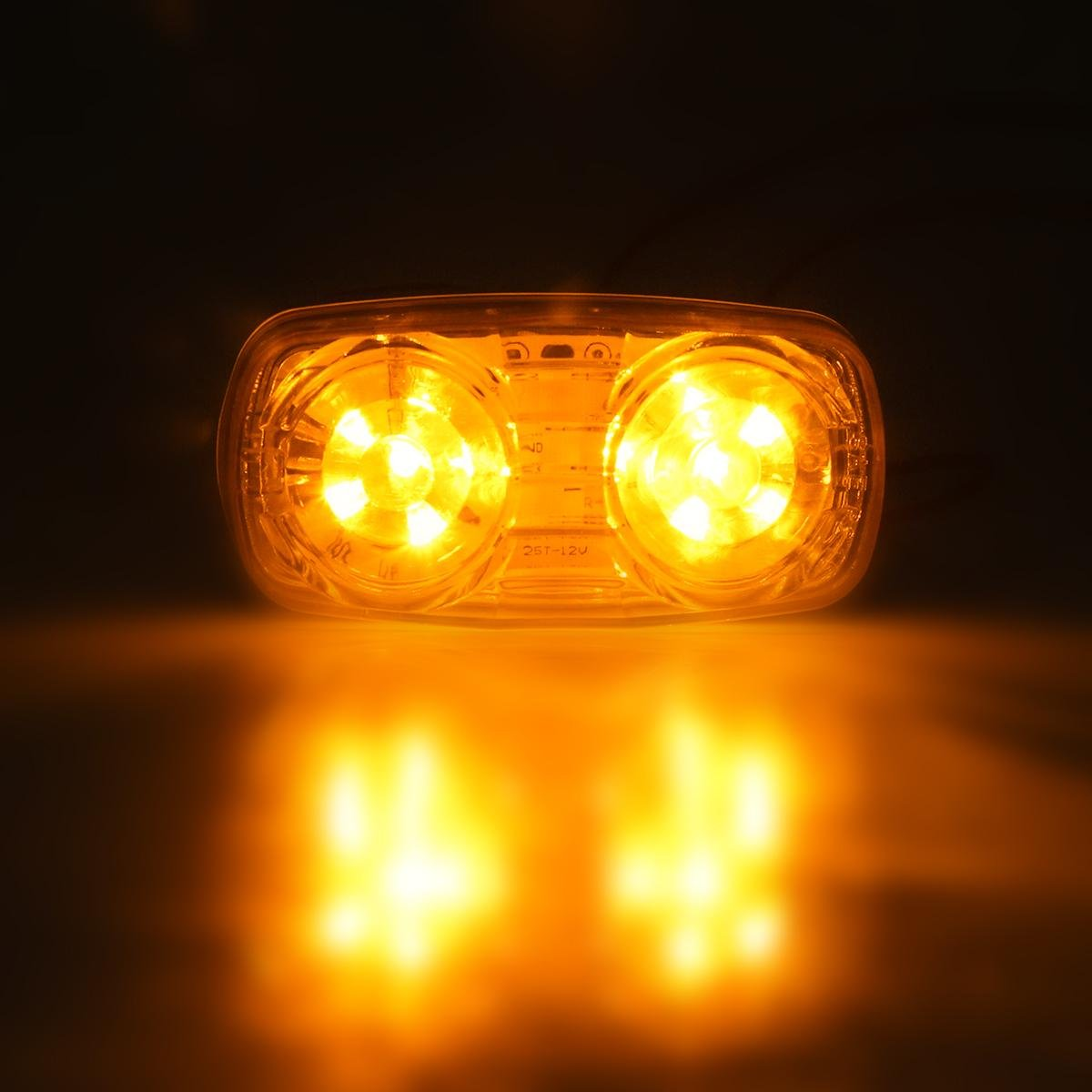 Partsam Submersible Under 80 Led Trailer Light Kit Square Stop Turn Together With Wiring Tail Rv Truck Lights