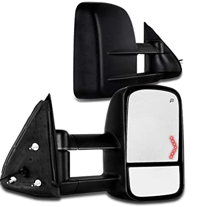 Amazon Com Scitoo Power Heated Arrow Led Signal Side Mirror For 03