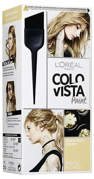 L\'Oréal Paris Colovista Permanent Paint #BEIGEBLONDE, dauerhafte ...