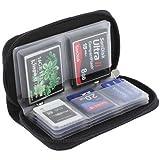 5インチ SDカードケース メモリーカードケース カード20枚収納