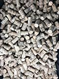Crafting Wine Corks Brand New, All Natural & Same Size With Printed Marked, Craft Grade Excellent for Arts, Crafts, Decor. No Agglomerated or Synthetic. Not Meant For Bottling. (Mix Corks 100)