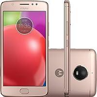 Smartphone Motorola Moto E4 Dual Chip Android 7.1.1 Nougat Tela 5` Quad-Core 1.3GHz 16GB 4G Câmera 8MP - Dourado