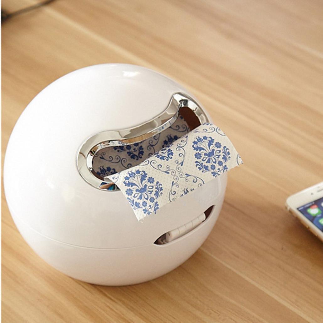Upxiang Ball Geformtes Badezimmer Toilettenpapier Kasten Kein