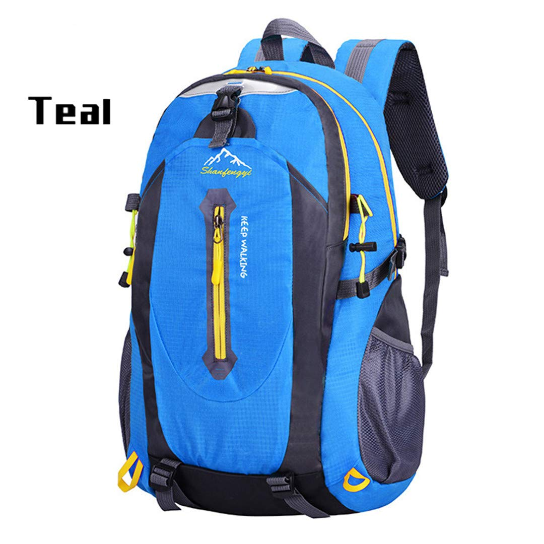 Women Men Backpacks Oxford Waterproof With Ears Bags Sack Backpack Travel Mountaineering Rucksack Trekking Bag blue