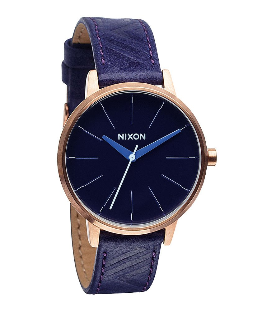 Nixon Women's A1081674 Kensington Leather Watch