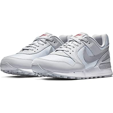 35319bbb7 Nike Men's Air Pegasus '89 Fitness Shoes, Multicolour (Wolf Grey/Red Crush