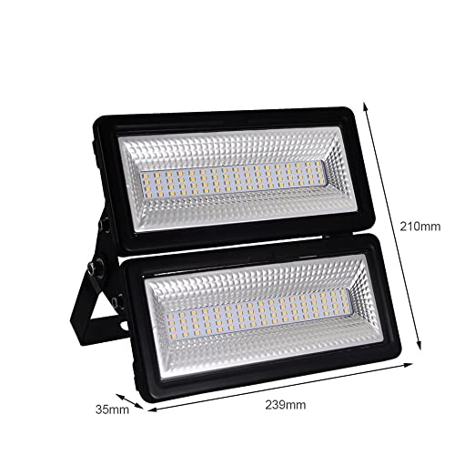 100W Foco LED Exterior Proyector ,Impermeable IP65 Foco Reflector ...