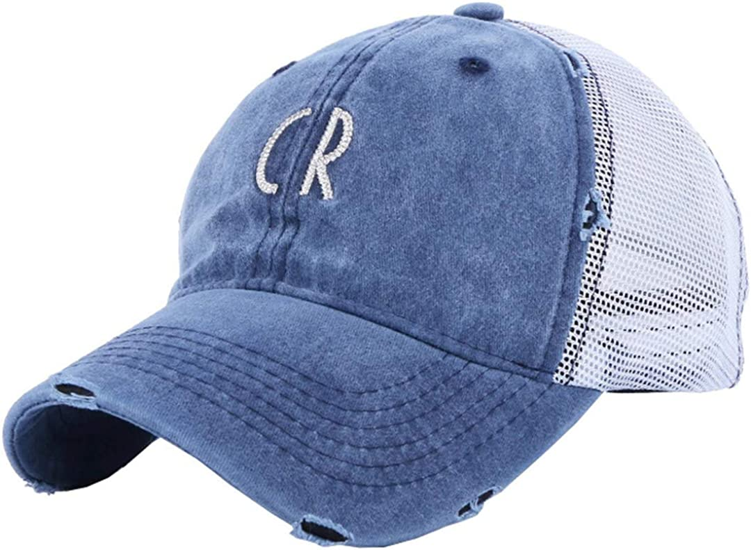 BAIELFES Summer Baseball Cap Embroidered Letters Cotton Camouflage Solid Color Hat