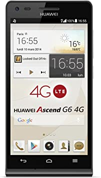 Huawei Ascend G6 4G - Smartphone libre Android (pantalla 4.5 ...