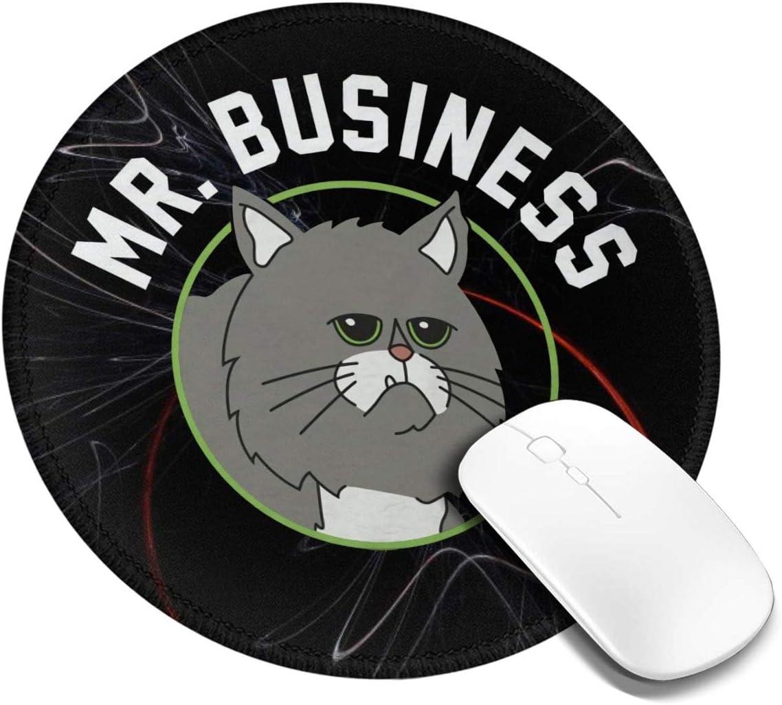 Amazon.com : Bob's Burgers Mr. Business Circle Mouse Pad ...