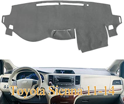TAUPE fits 2011-2014  TOYOTA SIENNA   DASH COVER MAT DASHBOARD PAD