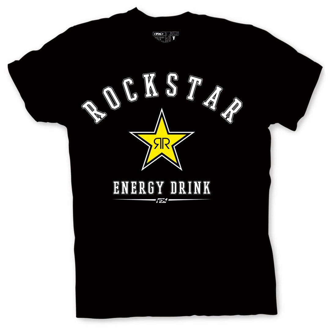 Factory Effex 'ROCKSTAR' Allstar T-Shirt (Black, Large) by Factory Effex