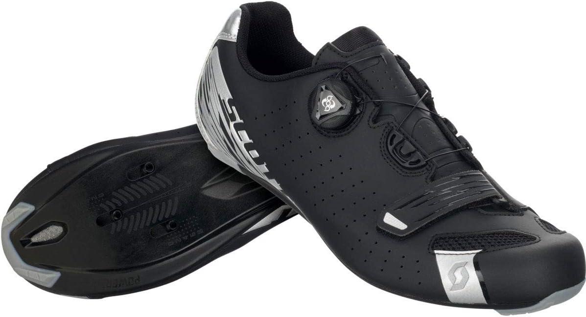 SCOTT Road Comp BOA Lady Cycling Shoe - Women's Matte Black/Silver, 38.0