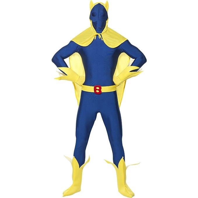 Smiffys - Disfraz de plátano (pegado al cuerpo) para hombre ...