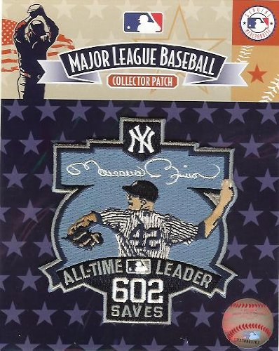 Mariano Rivera 602 Saves All-Time Leader Patch (2011)