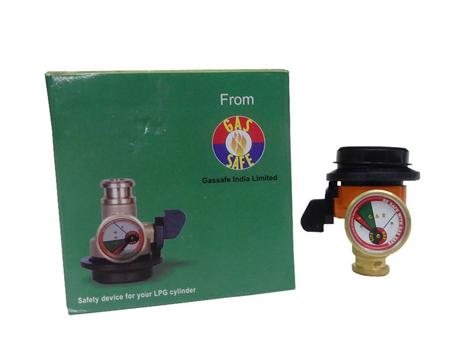 Gas Safe India Safety Device For Your LPG Cylinder - For Your Home ...