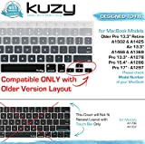 Kuzy Gray Ombre Colors Keyboard Cover Silicone Skin