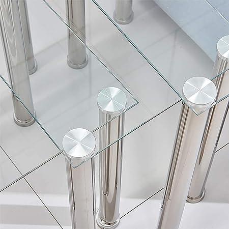 Mesas Nido Moderna Sala de Estar sofás Tres mesas de café de Cristal Negro Mesa de la Cocina, Muebles de casa rápido té Mesa de café,矩形透明玻璃