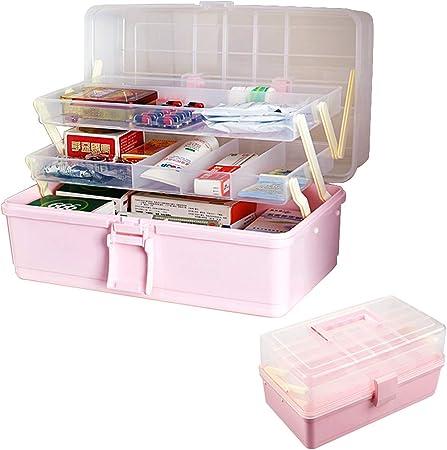 BUONDAC Caja Almacenaje de Plástico para Medicamentos Caja ...