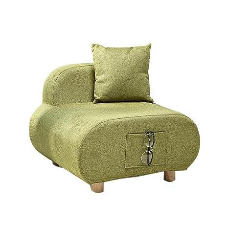 XXFFH® Mini sofá Una persona, Paño Sofá individual ...