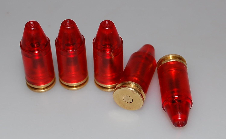 Pufferpatronen Kaliber 45 ACP Kunststoff Pufferpatrone Messing 5 St/ück