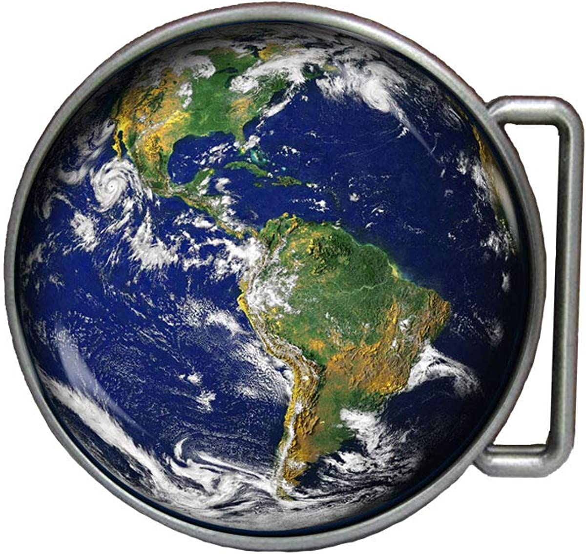 Planet Earth Belt Buckle Jewelry Pendant Charms Gift