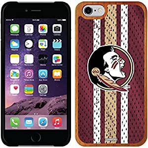 Coveroo iphone 5c Madera Wood Thinshield Case with Florida State Jersey Design