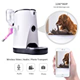 Automatic Cat Feeder Food Water Dispenser