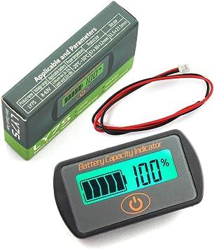 Tester Percentage Indicator Lithium Lead acid IS Icstation Battery Meter