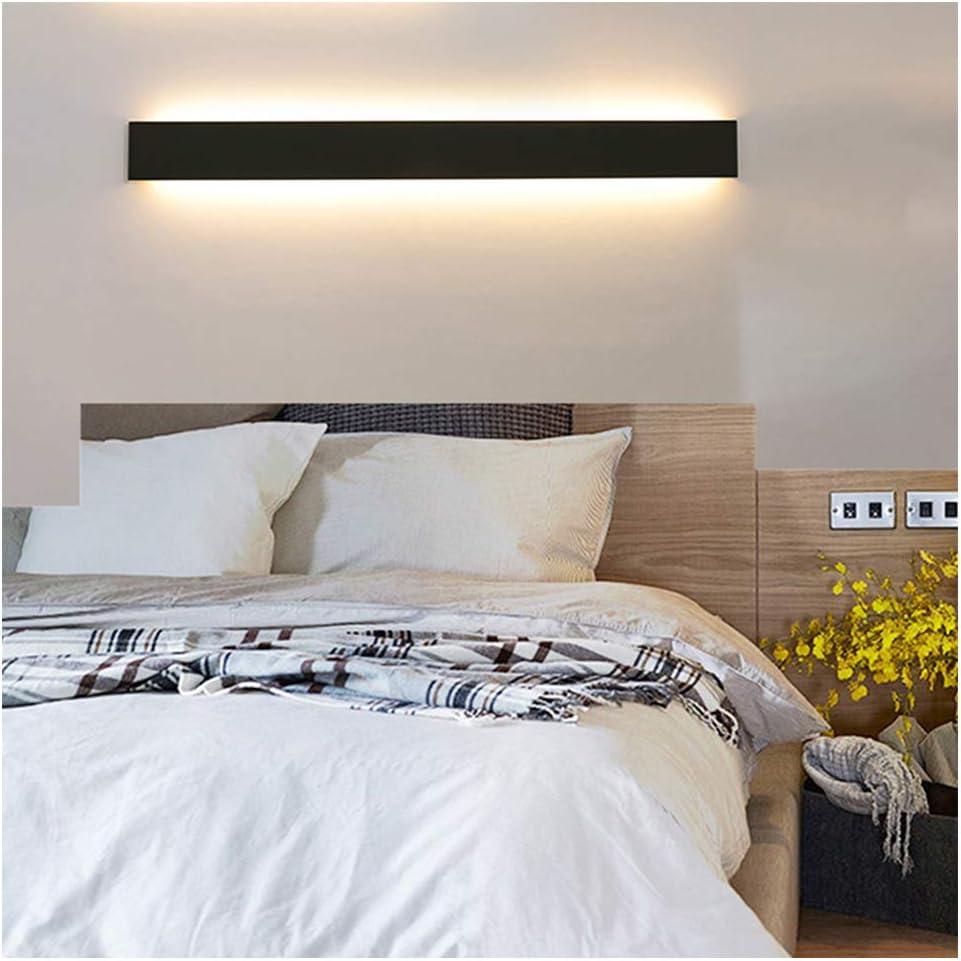 Ralbay Lámpara de pared LED 30W 3900LM Lámpara de iluminación de pared de interior moderna de gran brillo Lámpara de iluminación de pasillo Escaleras de vestíbulo, Blanco cálido 3000K: Amazon.es: Iluminación