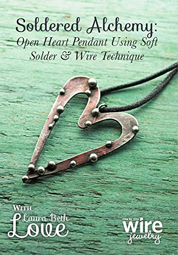 Construction Costumes Room - Soldered Alchemy: Open Heart Pendant Using