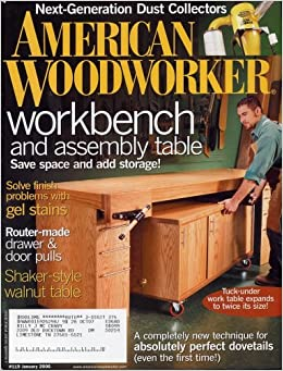 American Woodworker January 2006 Issue 119 American Woodworker