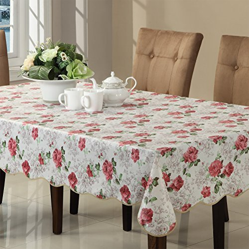 Ennas Cz017 Flannel Backed Vinyl Picnic Tablecloth Waterproof Oblong(rectangle) (60-Inch by 90-Inch ()