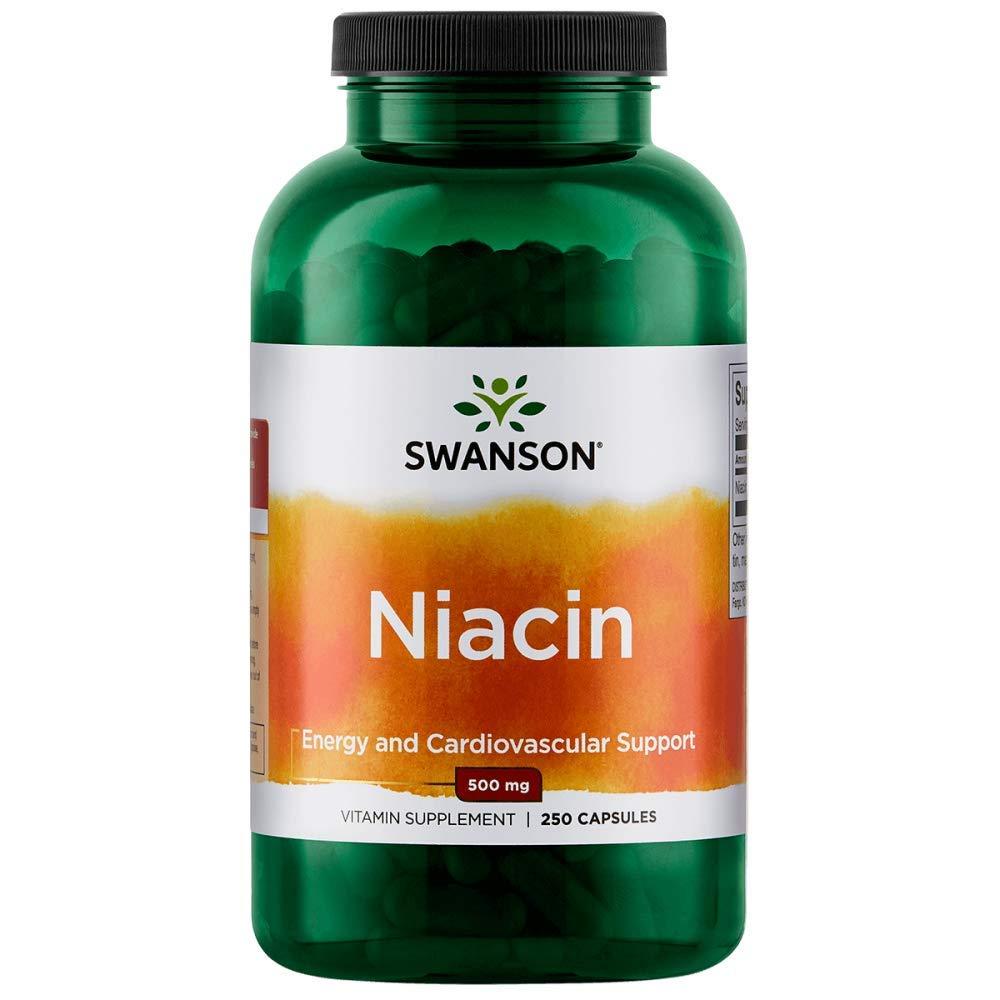 Swanson Niacin 500 Milligrams 250 Capsules