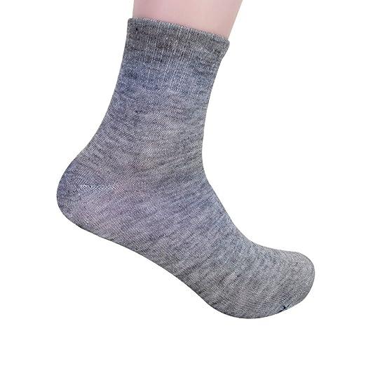 DEELIN Calcetines De Medium Barrel Cotton Socks De Color Puro Para Hombres Calcetines De AlgodóN Para Hombres De Negocios De Alta Calidad Calcetines Grises ...
