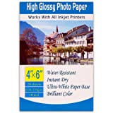 High Glossy Photo Paper 4x6 ~ AMT Datasouth