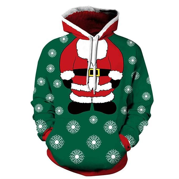 W-WORDEW Soy SuéTer De La Navidad De La DiversióN 3D De Santa Claus Y Venta Al por Mayor: Amazon.es: Ropa y accesorios