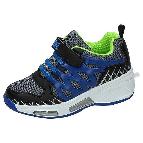XTI 1178338 LUCES CON RUEDAS NIÑO DEPORTIVOS NEGRO 38: Amazon.es: Zapatos y complementos