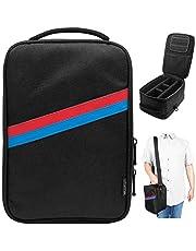 Sisma Travel Case Messenger Bag Organizer for Nintendo Switch and Accessories, Black SVG180402SWB-B
