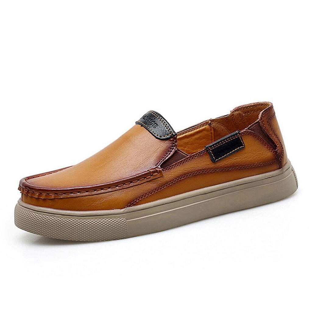 Zxcvb Herren Lederschuhe Klassische Leder Loafers Luxus Geschäft Schuhe Alle Jahreszeiten Tragen Größe 39-47