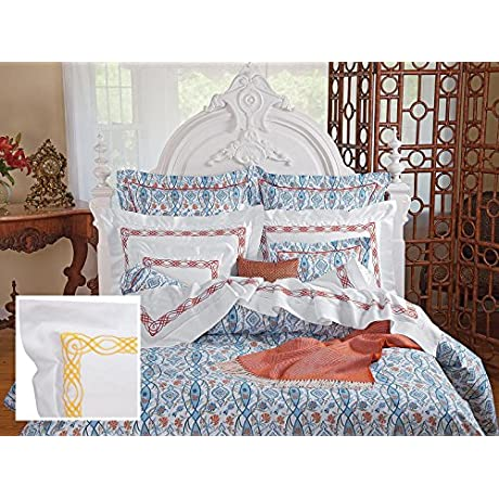 Arezzo Sheet Sets Queen 1 Flat 1 Fitted 2 Std Shams Yellow