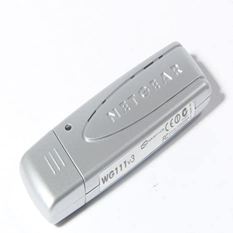 NEW DRIVER: NETGEAR WIRELESS USB ADAPTOR WG111V3