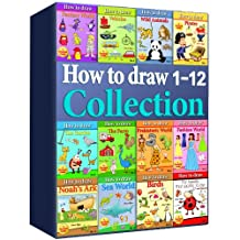 How to Draw Collection 1-12 (Over 400 Pages)