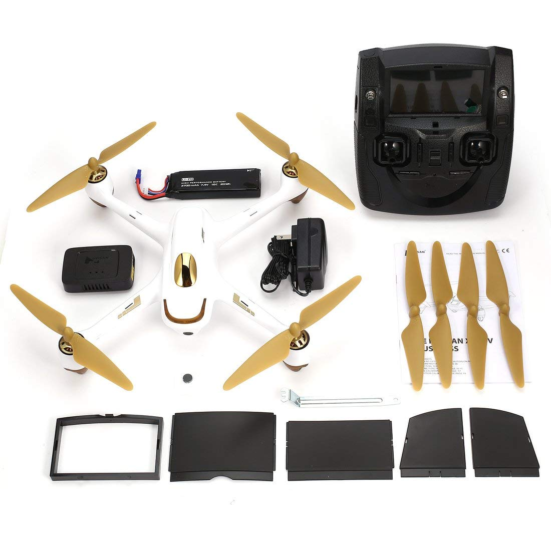 Formulaone Hubsan H501S 5.8G FPV Brushless 1080P Caacute;mara HD Drone Drone Drone Altitude Hold Retorno automaacute;tico Modo sin Cabeza RC Quadcopter con GPS 9b876e