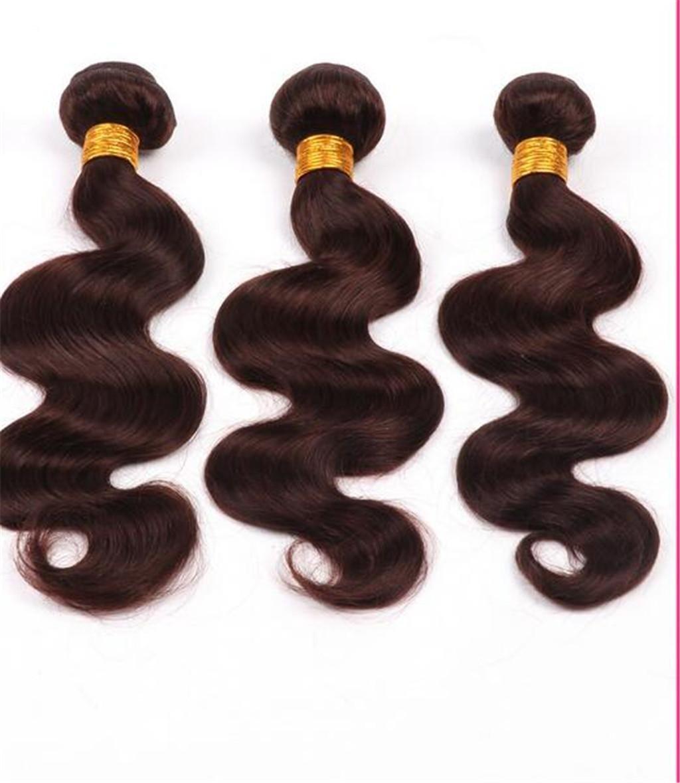 HJXJXJX Las extensiones brasileñas del pelo de la onda del cuerpo sin procesar trama humana 300 g , 20 22 24