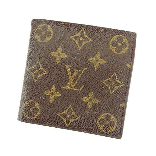 the latest af12e f3cae Amazon | (ルイ ヴィトン) Louis Vuitton 二つ折り 財布 廃盤 ...