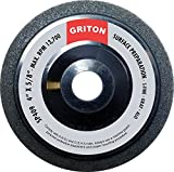 Griton SP409 Silicon Carbide Super Fine Surface Preparation Wheel, 4'' x 5/8'' (Pack of 10)