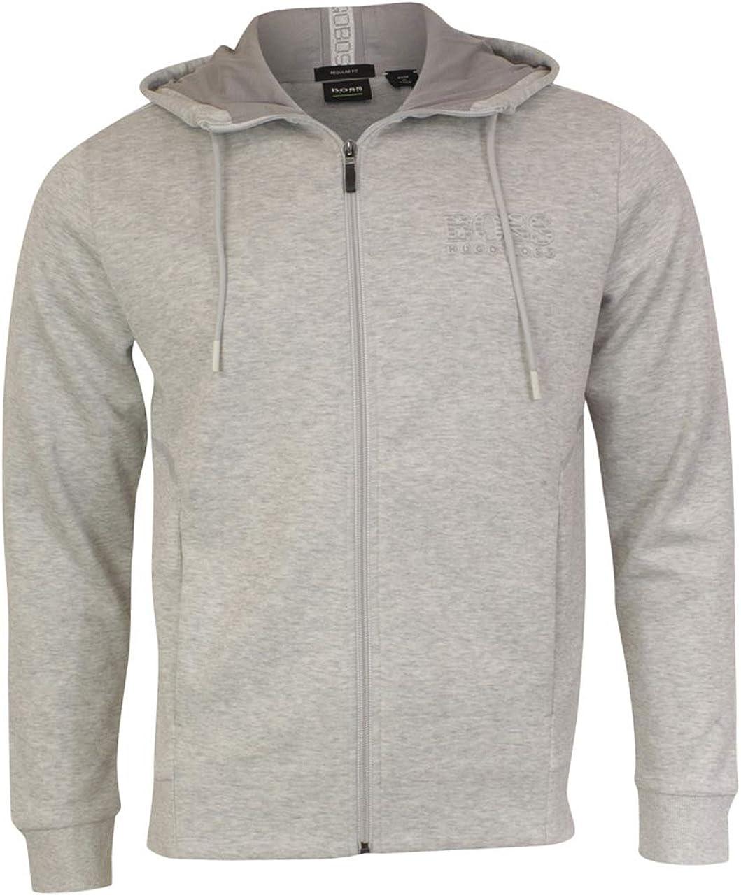 hugo boss grey sweater