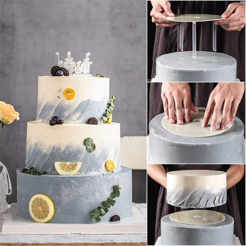 HELLOGIRL Multi-Layer Practical Cake Stands Cake Piling Bracket Support Frame DIY Dessert Making Cake Decor Tools Backing Accessories